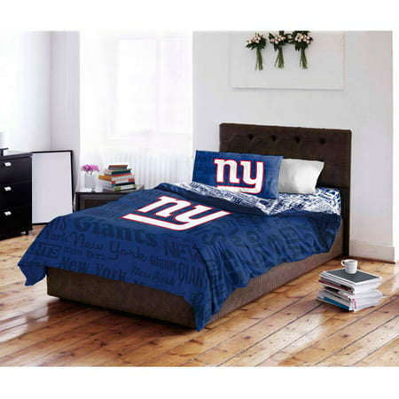 Nfl New York Giants Bed In A Bag Complete Bedding Set