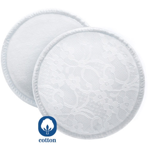 Philips Avent SCF155/06 Washable Breast Pads, 6 Pieces