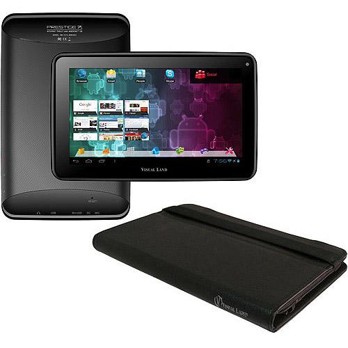 Refurbished Visual Land ME-107-L-8GB-TC-017-BLK Prestige 7 8GB Wi-Fi 7in - Black