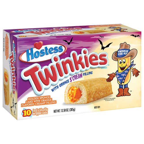 Hostess Twinkies with Orange S'Cream Filling, 10 ct, 13.58 oz