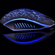 Freedo 2. 4GHz Wireless  Noiseless Mouse, Gaming Mouse  Rechargeable For for Laptop and Computer,Colorful LED Lights BLUE - image 7 of 8