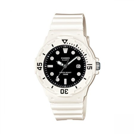 Women's Diver Watch, Black Face and White (Alpine Diver Watch)