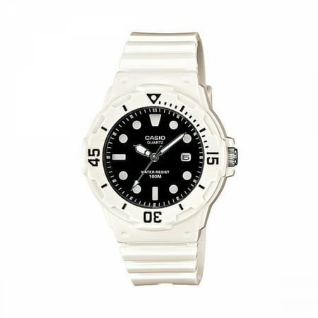 Women's Diver Watch, Black Face and White - Florida Driver