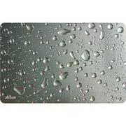 Allsop 29648 Widescreen Mouse Pad, Metallic Raindrop
