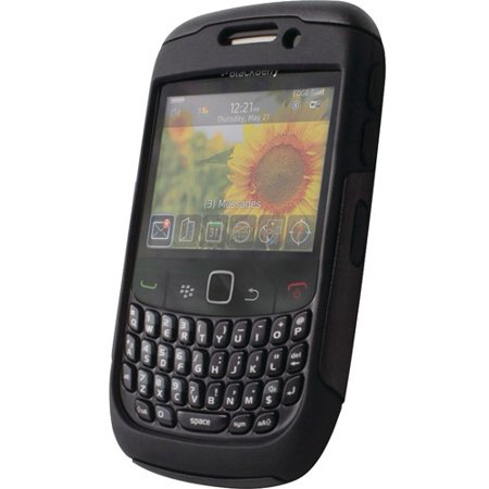 Blackberry Curve 8520 Cover - Otterbox Commuter Case for Blackberry Curve 8530 / 8520 / 9300 / 9330 - Black