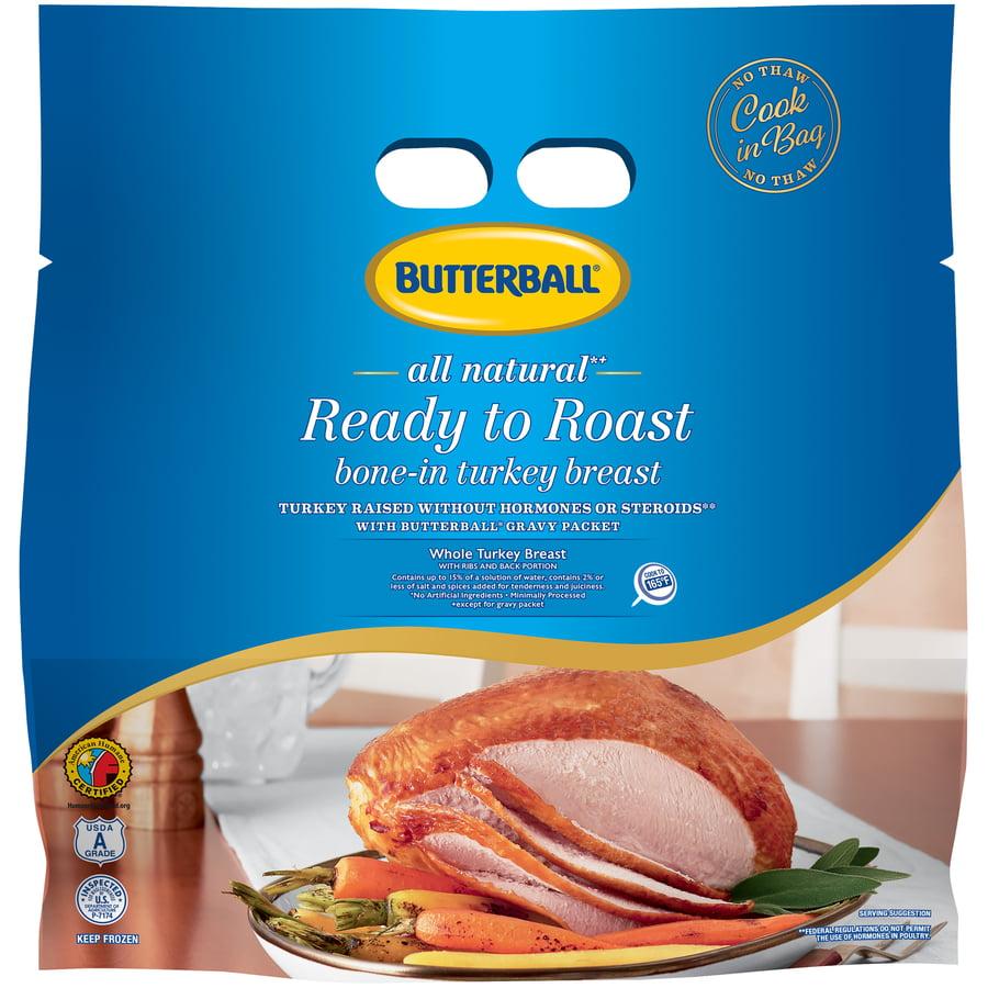 Butterball® Frozen Ready to Roast Bone-In Turkey Breast, 5.00-6.25 lb