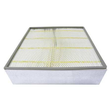 Air Filter,19-1/2 x 5-9/16 in.