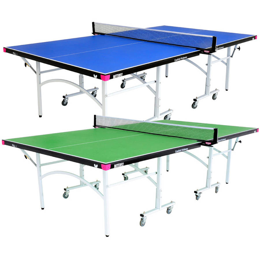 Butterfly Easifold 19 Rollaway Table Tennis Table, Blue