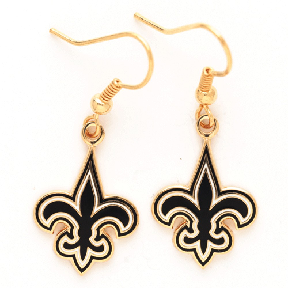 New Orleans Saints Official NFL 1 inch  Earrings by Wincraft