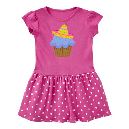Fiesta Cupcake Cinco de Mayo Sombrero Toddler Dress (Vestidos De Fiesta Largos)