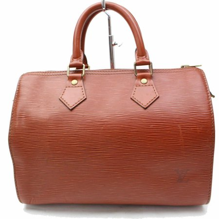 Louis Vuitton Brown Epi Leather Speedy 25 12002 Kenya Satchel ()