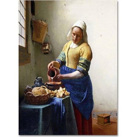 Adult Milkmaid (Trademark Fine Art