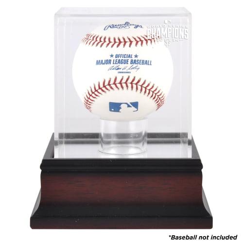 San Francisco Giants Fanatics Authentic 2014 World Series Champions Mahogany Baseball Display Case - No Size