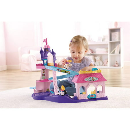 Little People Disney Princess Klip Klop Stable Play Set (Princess Play Sets)