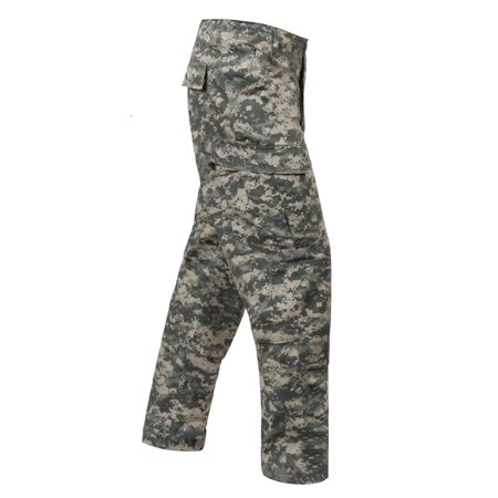Acu Pants (ACU Digital Uniform Pants, Size Medium Long)