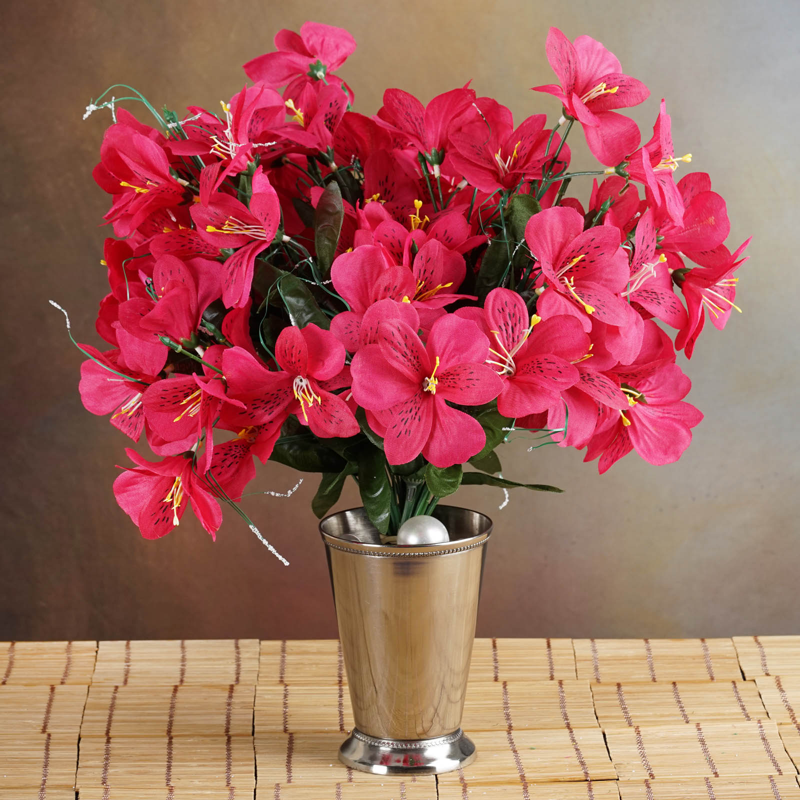 Efavormart 96 Artificial Mini Primrose Flowers for DIY Wedding Bouquets Centerpieces Arrangements Party Home Decorations Wholesale