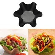 Carbon Steel Tortilla Plate Creative Non-stick Flaky Baking Bowl Carbon Steel Tortilla Salad Bowl Flaky Baking Tray