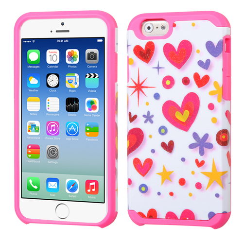 Hybrid Advanced Armor Rugged Protector Cover Case for iPhone 6