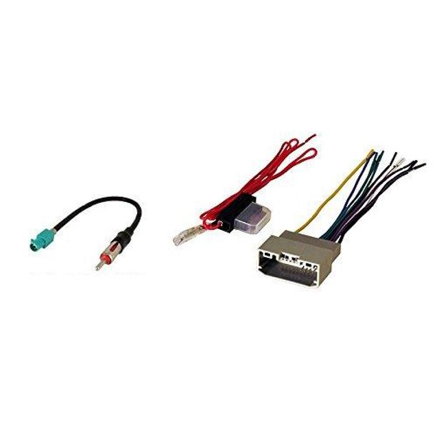Stereo Wire Harness & Antenna Adapter for Jeep Wrangler 07 08 09 10 11  2007 2008 2009 2010 2011 - Walmart.com - Walmart.comWalmart.com