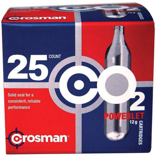 Crosman 12-Gram Powerlet CO2 25ct