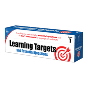 Carson-Dellosa Learning Targets And Essential Questions Kit, Multicolor, Grade 1
