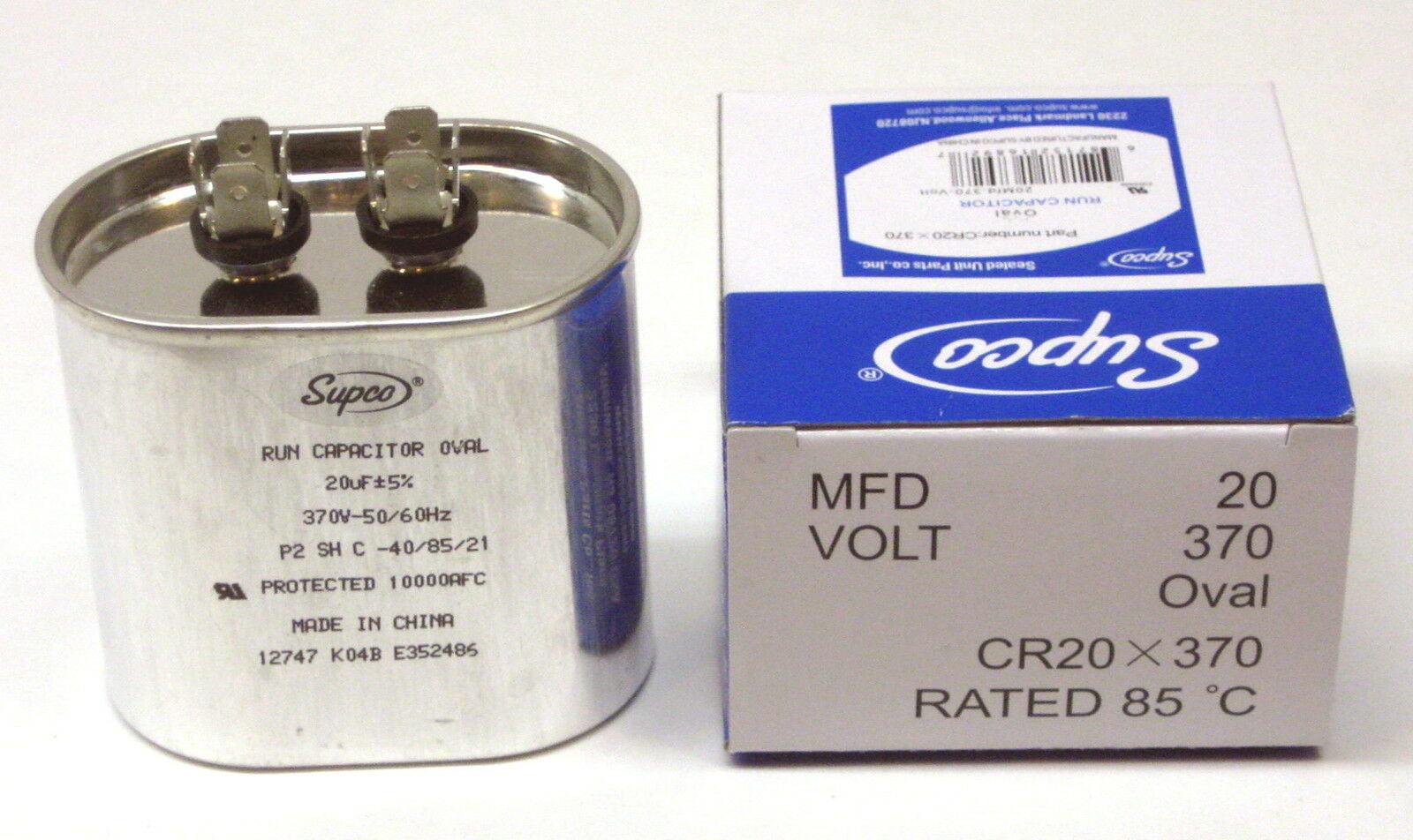 Motor Run Capacitor 2-3//4 in 4 MFD H