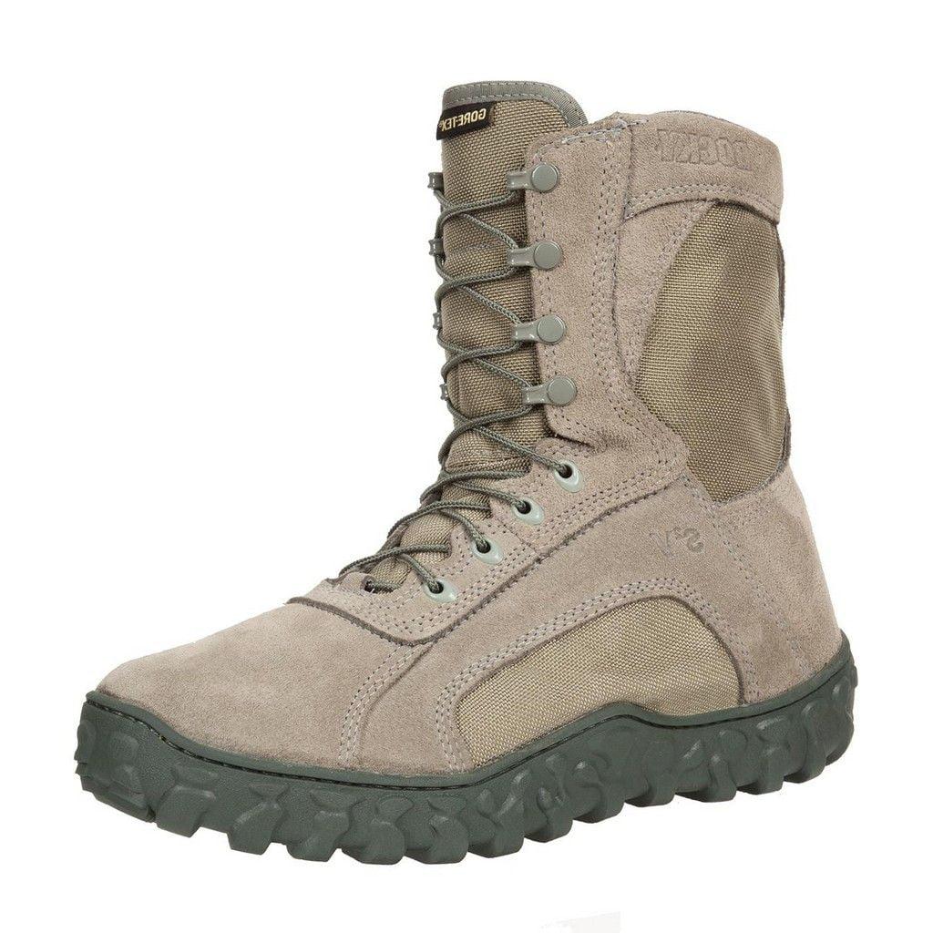 "Rocky Tactical Boots Mens 8"" S2V GTX WP Sage Green FQ00103-1"