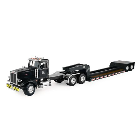 Big Farm Peterbilt Model 367 with Lowboy Trailer