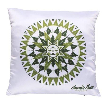 Cannabis Flavor Chart Pillowcase   Marijuana Inspired Artwork For Those Who Love Weed