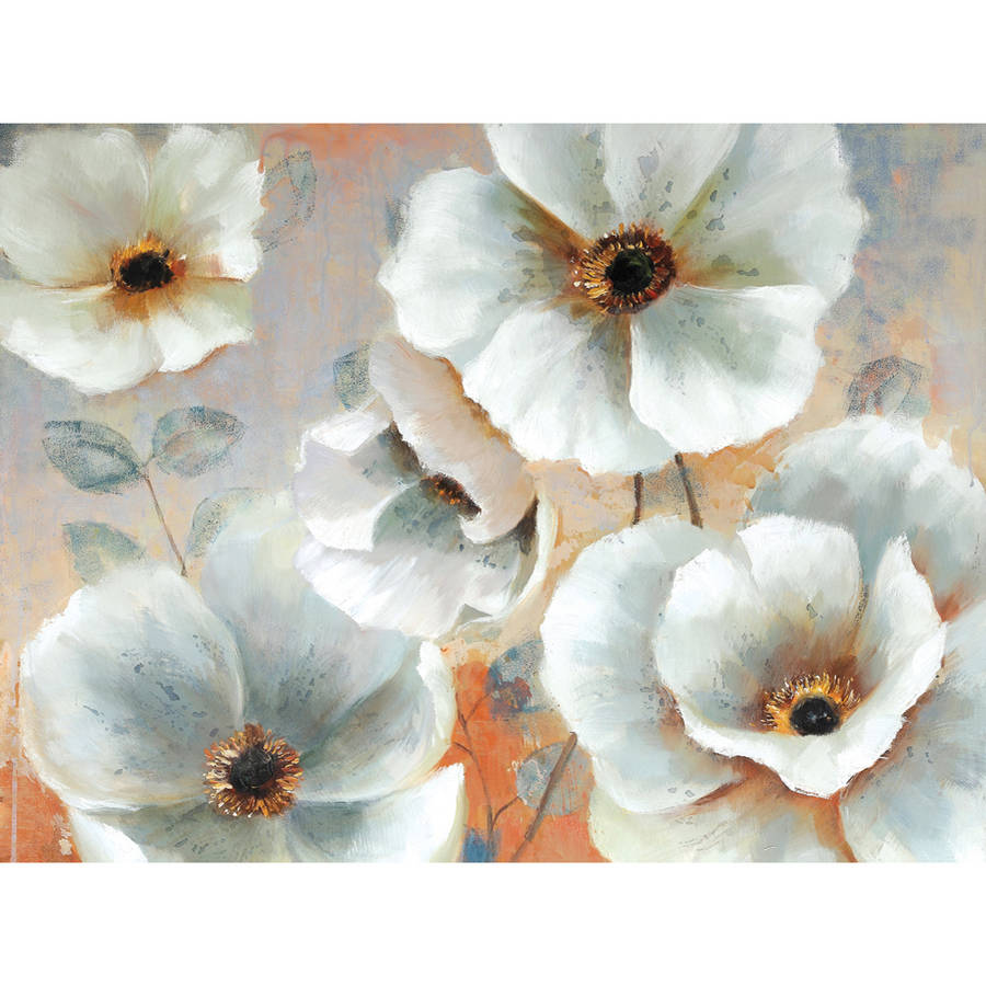 """Portfolio Canvas Decor """"First Bloom"""" Framed and Stretched Large Wall Art"""