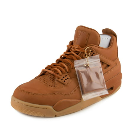 Nike Mens Air Jordan 4 Retro Premium Pinnacle WHEAT Ginger/Gum Yellow  819139-205 - Walmart.com