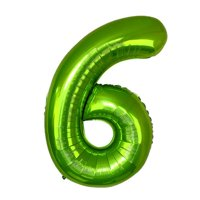 KABOER 1 Pcs 40 Inch Green Foil Number Balloons New Digital Helium Globos Baby Shower Birthday Party Wedding Decoration Supplies