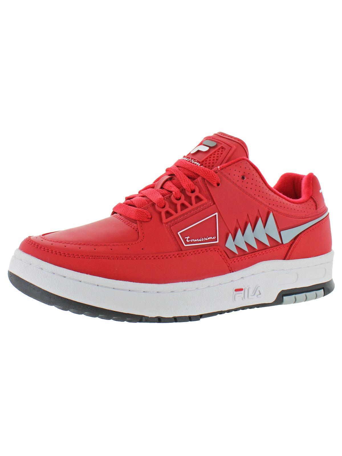 Fila Fila Mens Tourissimo Low Leather Padded Insole Fashion Sneakers