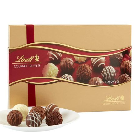 Lindt LINDOR Assorted Chocolate Gourmet Truffles, Gift Box, Kosher, 7.3 - Boy Chocolate