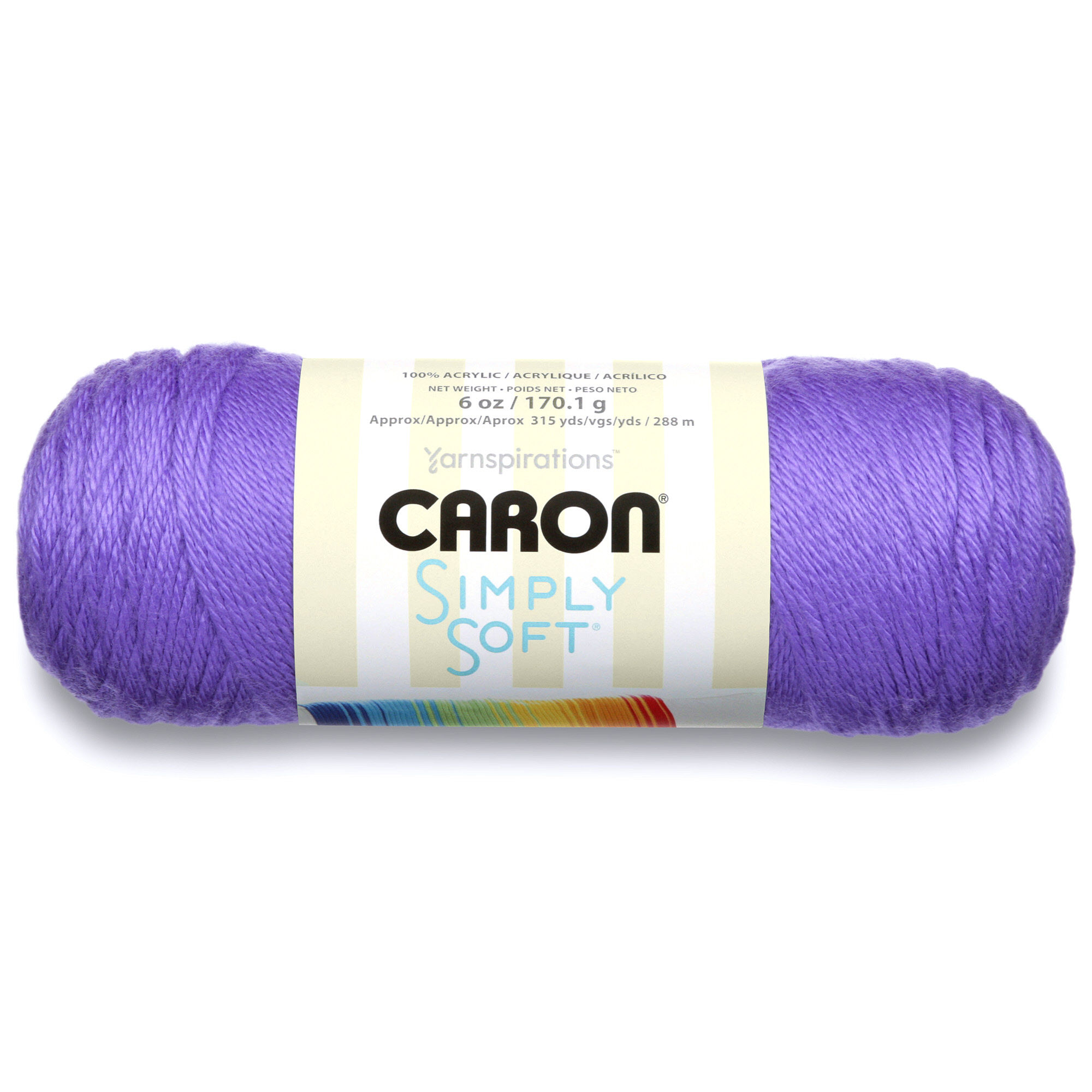 Caron Simply Soft Acrylic Brites Blue Mint Yarn, 1 Each