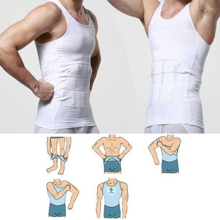 Body Shaper hommes pour les hommes amincissant Shirt taille Tummy Gilet à perdre du poids Sport Formation