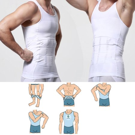 1759e2cb59a Men s Body Shaper For Men Slimming Shirt Tummy Waist Vest lose Weight Sport  Training - image ...