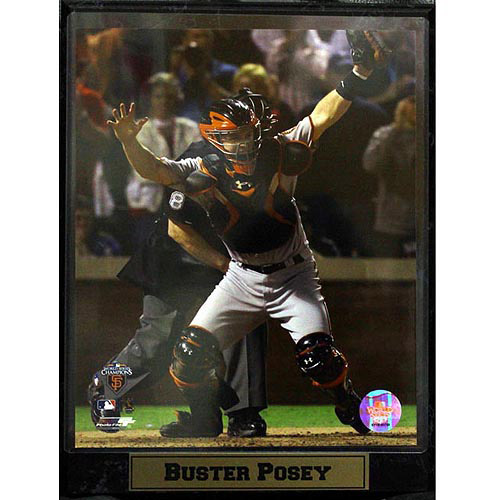 MLB Buster Posey Photo Plaque, 9x12