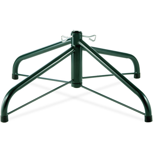 "National Tree 24"" Folding Tree Stand for 6-1/2' to 8' Trees with 1.25"" Pole"