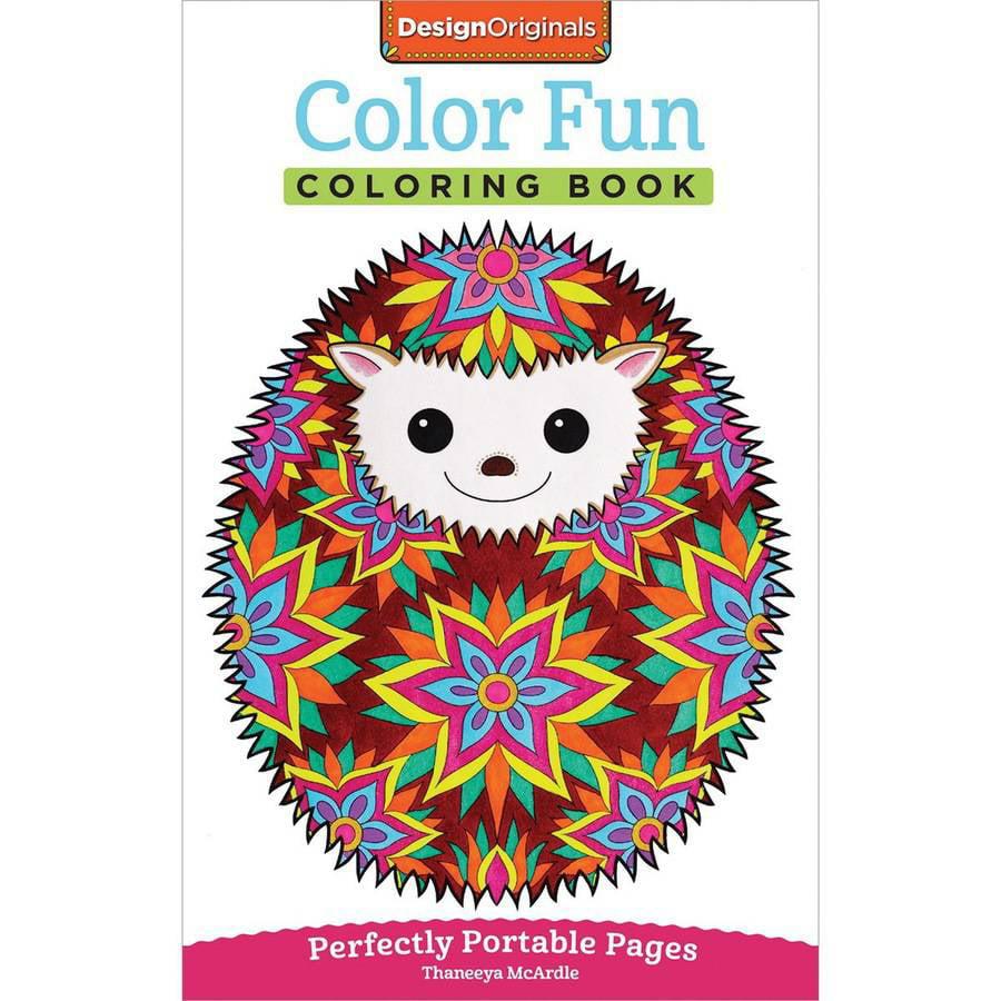 Design Originals Color Fun Adult Coloring Book