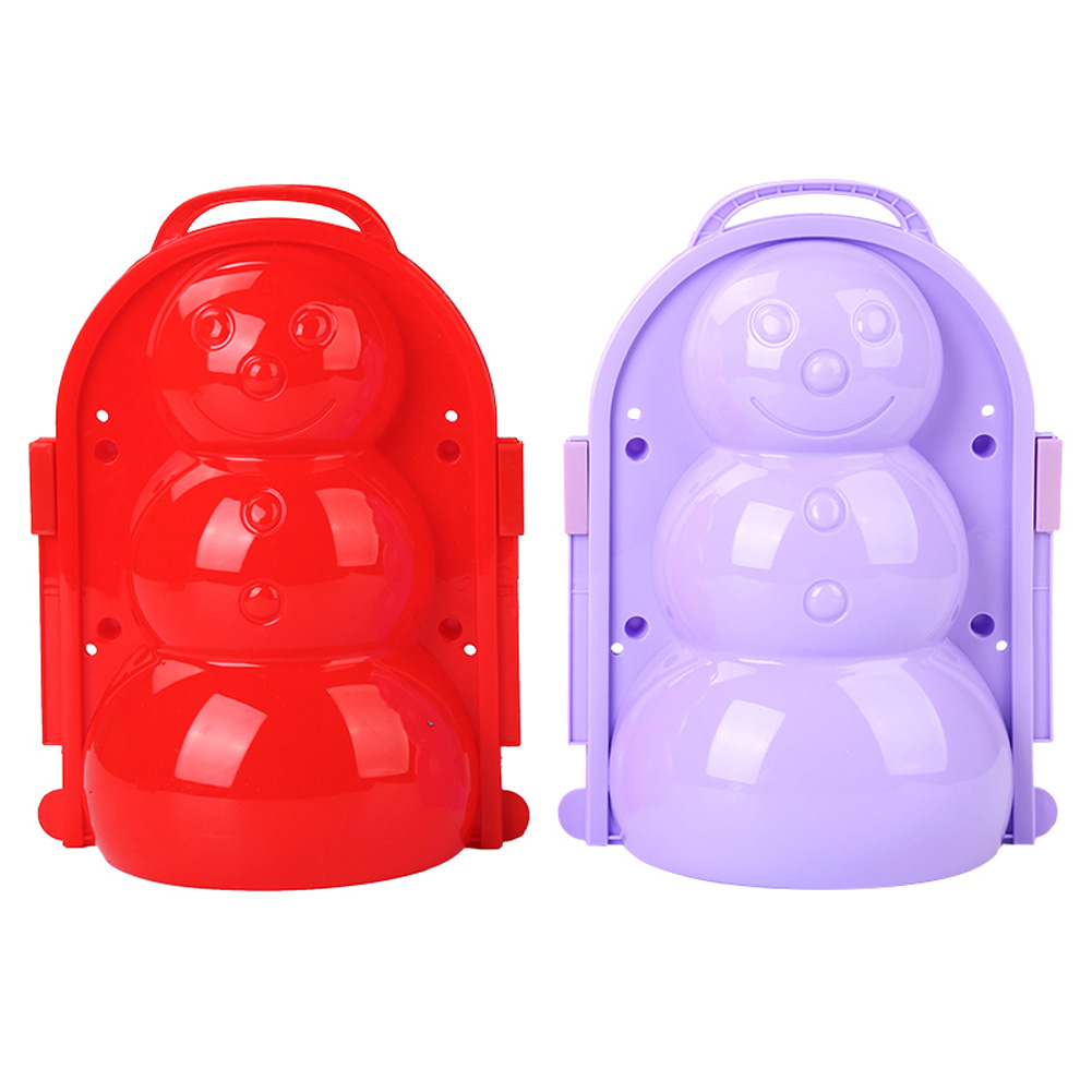 Debuy Snow Mold Snowball Maker Clip Snow Sand Mould Tool Toy for Children Kids Outdoor Winter Bear Snow Clip