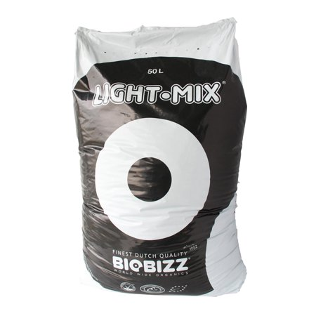 BioBizz Light-Mix 50L Organic Farming Plant Growing Mix Substrate Bag | - Growing Mix