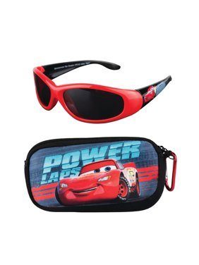 Cars Soft Case and Kid's Sunglasses Set