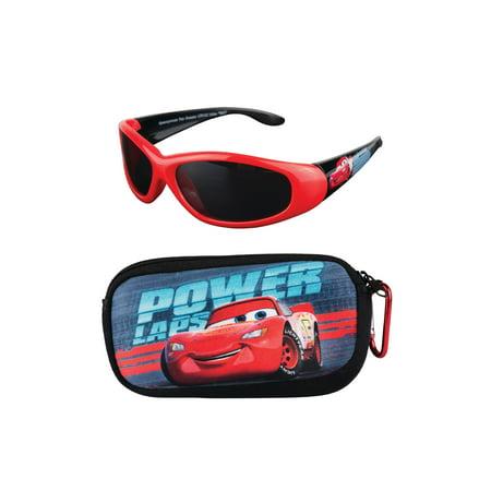 Cars Soft Case and Kid's Sunglasses (Kids Sunglasses Brands)