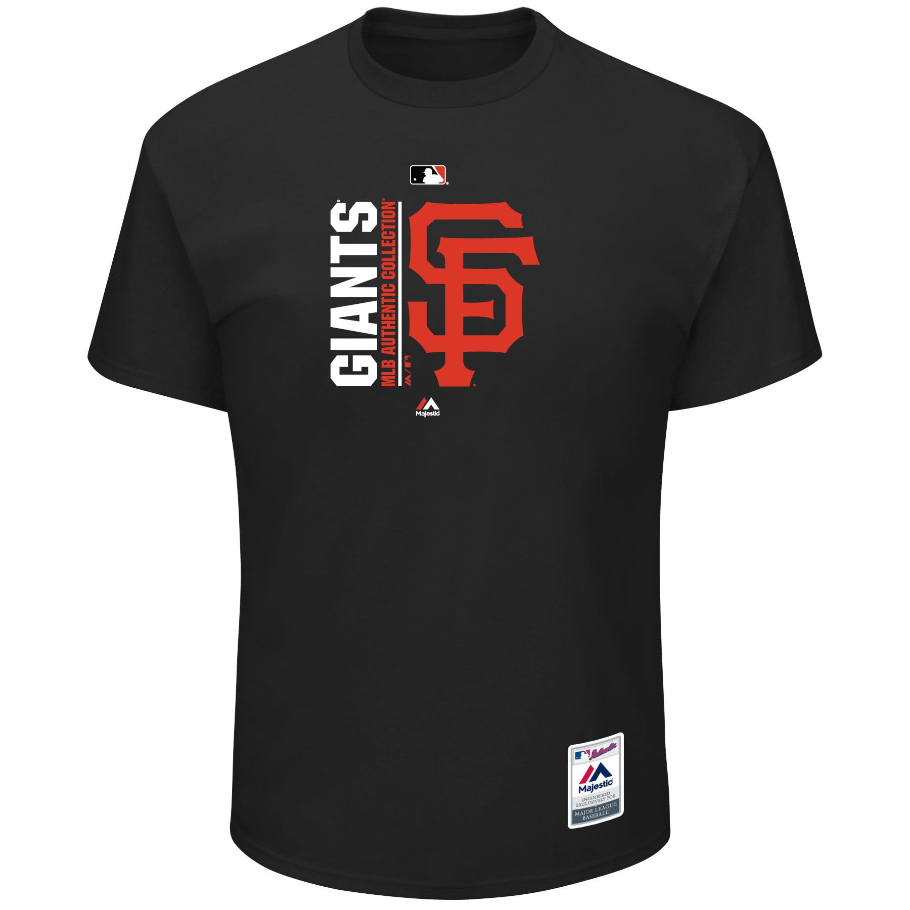 San Francisco Giants Majestic Big & Tall Team Icon T-Shirt - Black