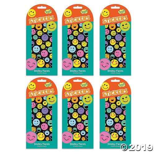 Smiley Face Sticker Set - Walmart.com - Walmart.com
