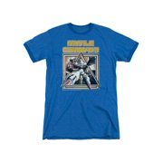 Atari Console Missile Command Game Program Retro Cover Adult Ringer T-Shirt Tee