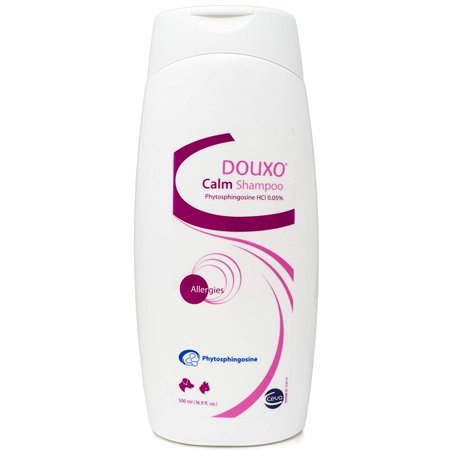 Ceva Douxo Calm PS Atopic Skin Relief Shampoo for Cats and Dogs, 16.9 oz.