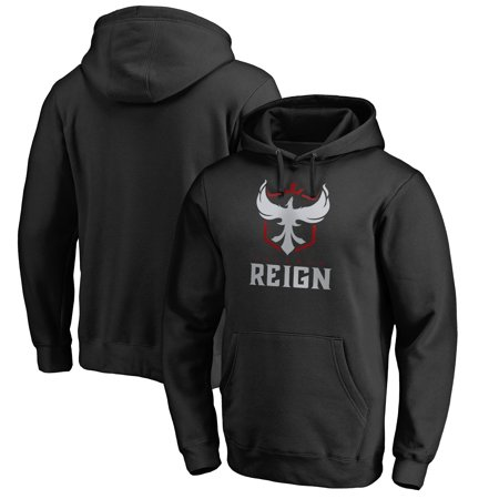 Atlanta Reign Fanatics Branded Team Identity Pullover Hoodie - Black