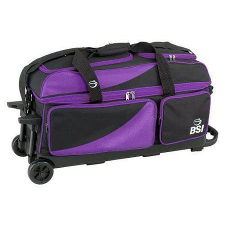 Bsi Bsi3302 Prestige Triple Roller Black Purple Bsi3302 Purple   Triple